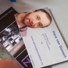 Hier heeft u mijn visitekaartje