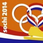 Olympische Winterspelen - OS2014 Schaatsvlag