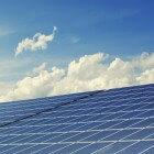 Zonnepanelen voor een plat dak