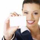 Wat heb je aan een goed visitekaartje?