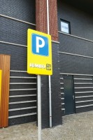 speciale parkeerplaats Pick Up Point / Bron: ©ottergraafjes